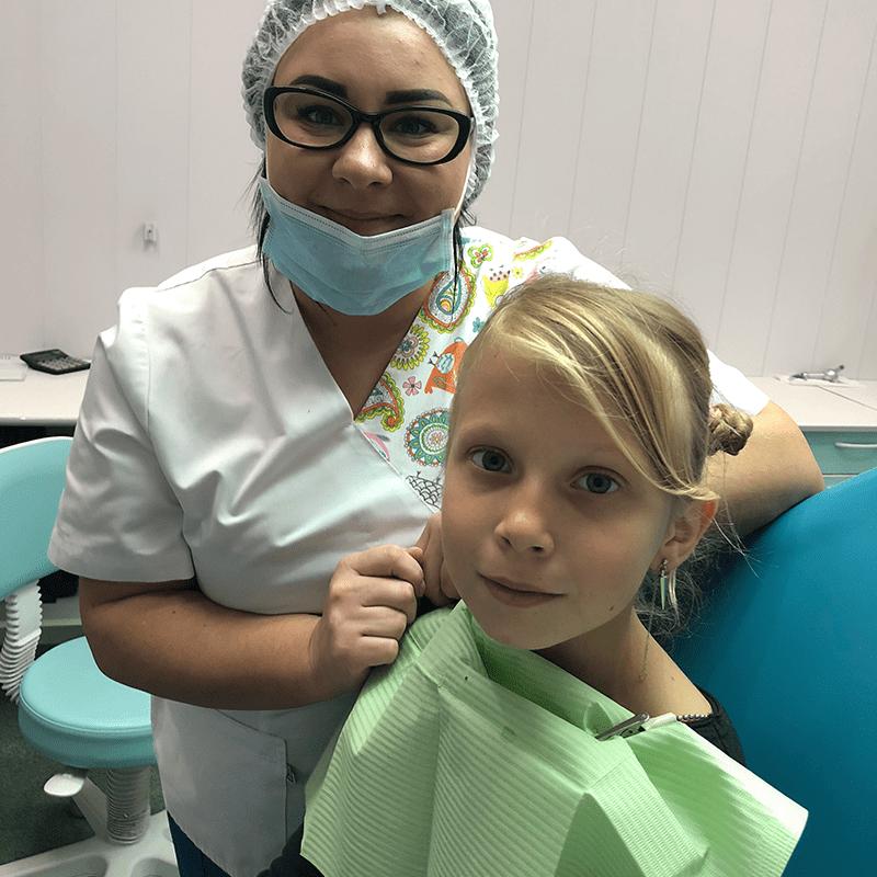Садовская Катерина Василиевна в детской стоматологии D.Ante
