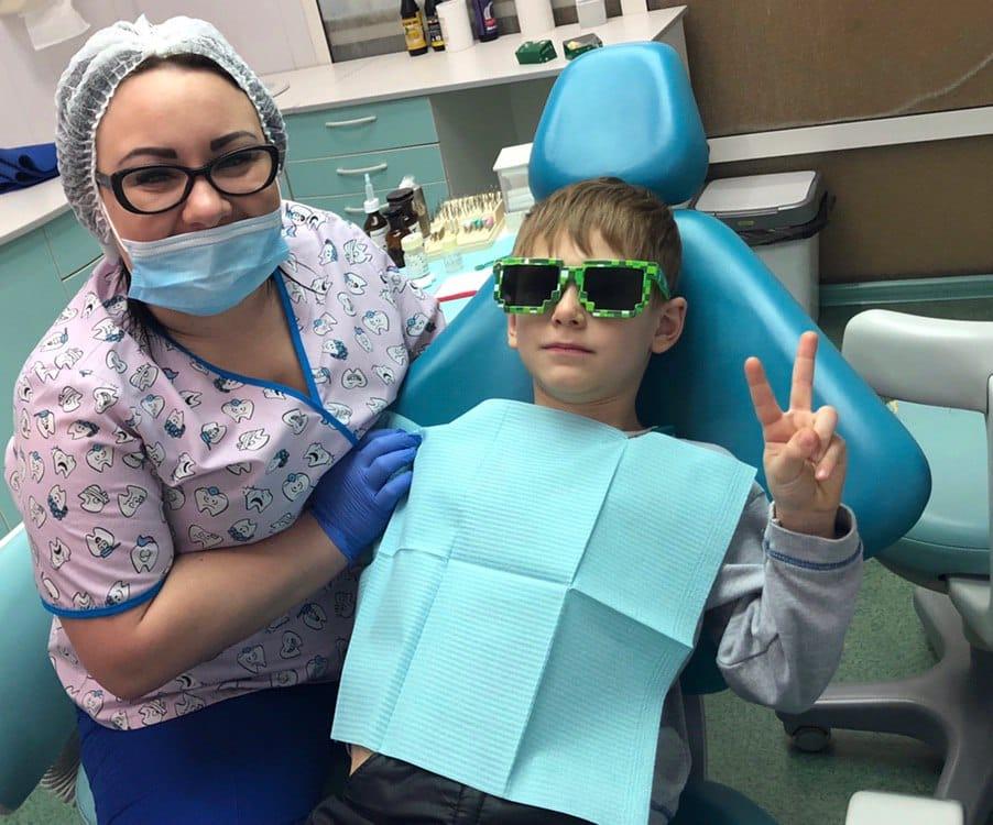 фторирование зубов в киеве