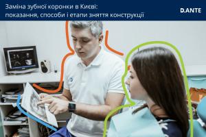 Заміна зубної коронки
