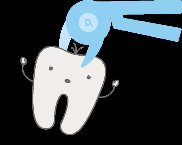 Удаление молочных зубов в Киеве