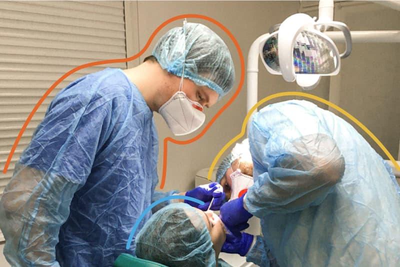 зубосохраняющие операции в Киеве